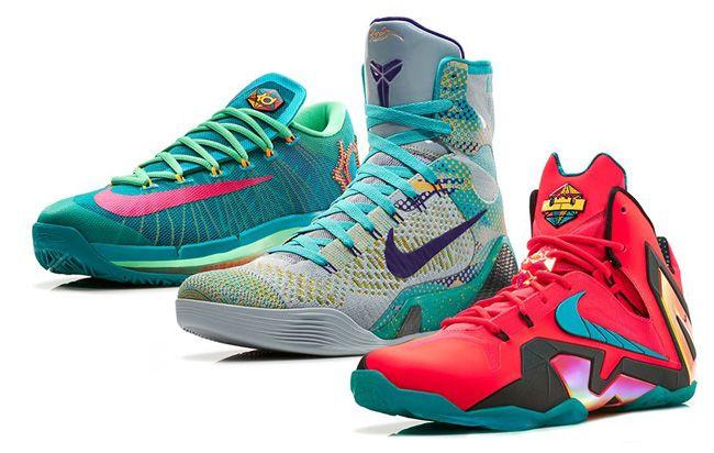Releasing: Nike Basketball Elite Hero Pack (KD VI, Kobe 9 & LeBron 11) - EU Kicks: Sneaker Magazine