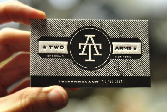 business cardLetterpresses Cards, Creative Business Cards, Black White, Awesome Black, Letterpresses Business, Business Cards Design, Personalized Cards, Cards Letterpresses, Black And White Business Cards