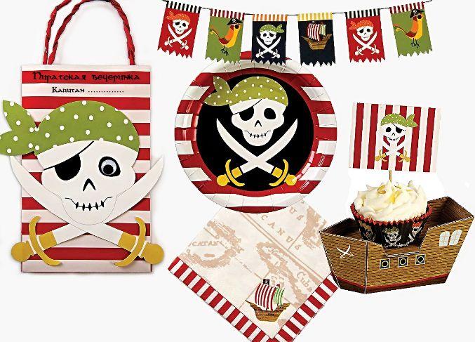 Большая подборка для пиратского дня рождения - Babyblog.ru