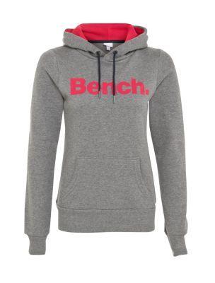 Bench Grey Logo Hoodie
