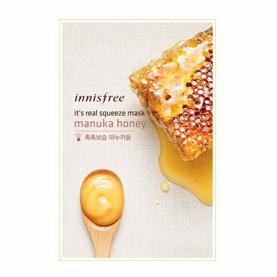 Inninsfree - It's real squeeze Mask Sheet manuka honey @ Sheet Happens