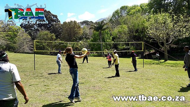 Volleyball Team Building Activity