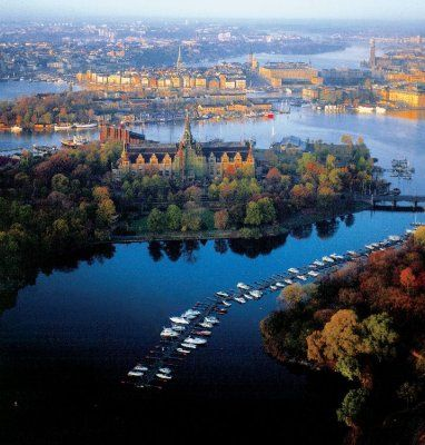 Stockholm, Sweden  Bart, Mollie and I went here in 2000  We went to a historic village, and the Vasa Museum.
