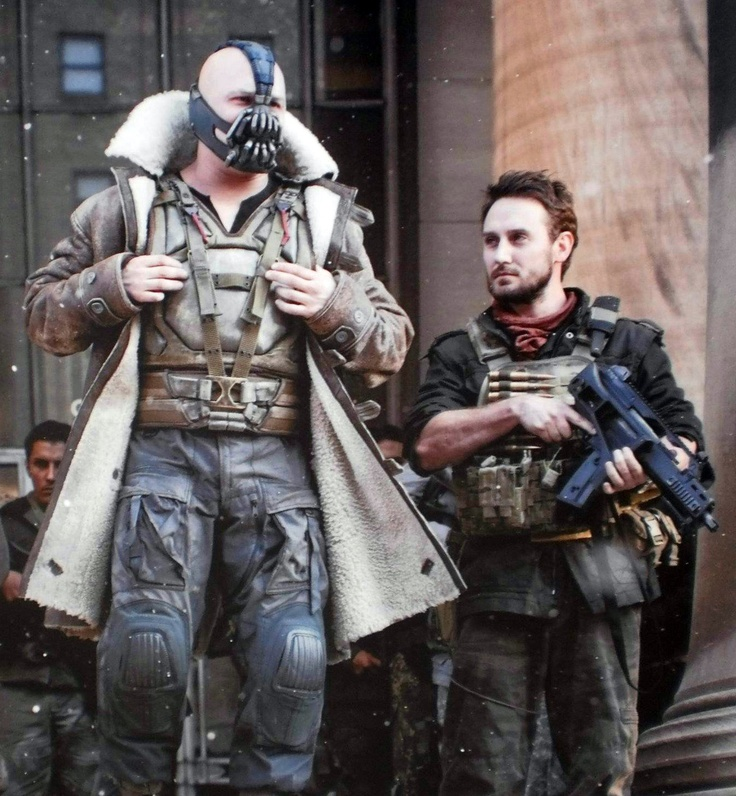 BBR Client Josh Stewart in Dark Knight Rises as Barsad - BBR Talent Agency