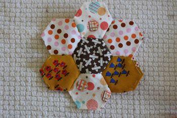 Paper Pieced Hexagons: Hexagons Flowers, Hex Flowers, Flowers Hands
