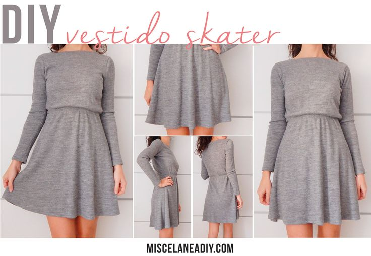 DIY sewing | Vestido Skater | Skater Dress