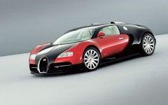 bugatti Full HD wallpaper black red