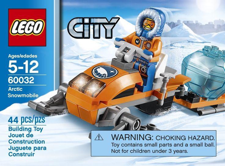 LEGO City Arctic Snowmobile 60032 - Discount Toys USA