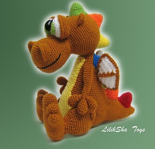 Xxl Amigurumi Hakelvorlage : 1000+ images about Dino dragon on Pinterest