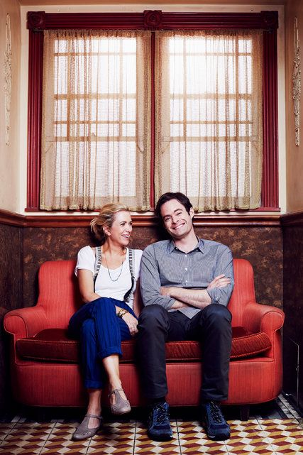 Kristen Wiig and Bill Hader are my favs from SNL