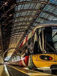 National Rail Enquiries - roughly $200for 4 to and back London to Endinburgh andback.