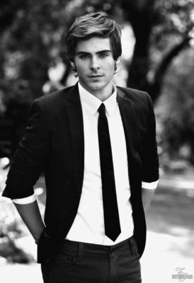 Zach Efron. He is pretty cute, you have to admit.