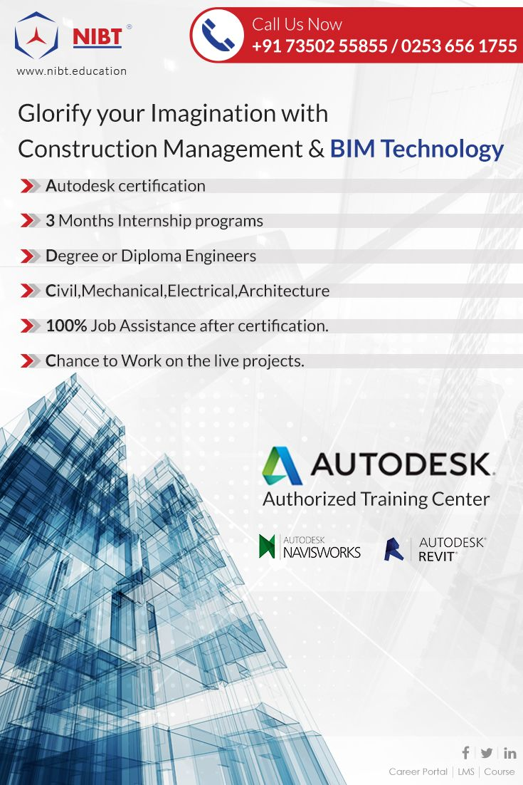18 best courses images on pinterest tech technology and building become an expert in construction management bim technology certified by nibt and its authorized partner 1betcityfo Choice Image