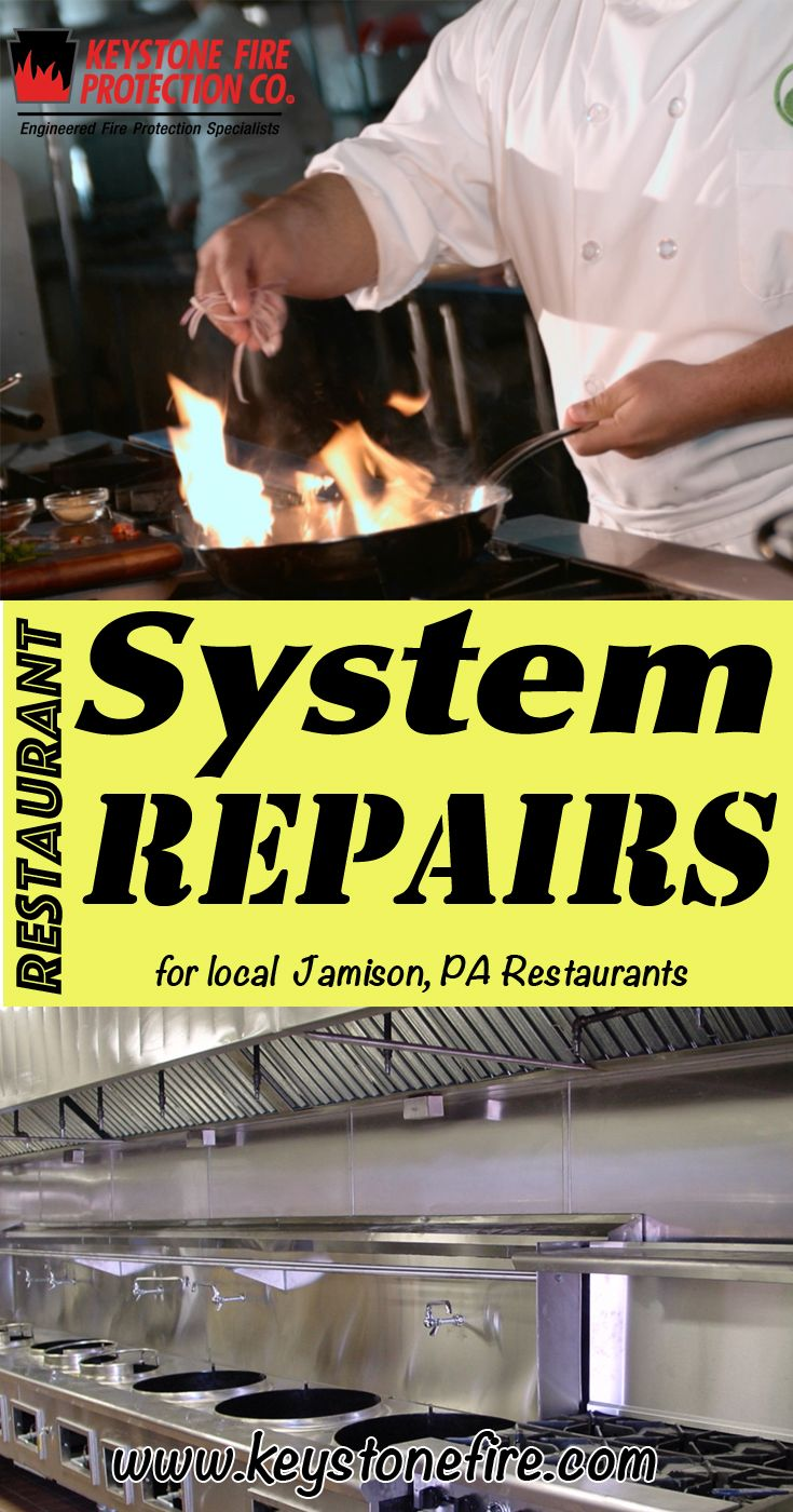 Restaurant Fire Suppression System Repairs Jamison, PA (215) 641-0100 We're Keystone Fire Protection.. The Main Source for Restaurant System Service for Pennsylvania Restaurants. Call Today!  We would love to hear from you.