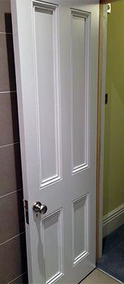 Victorian interior door