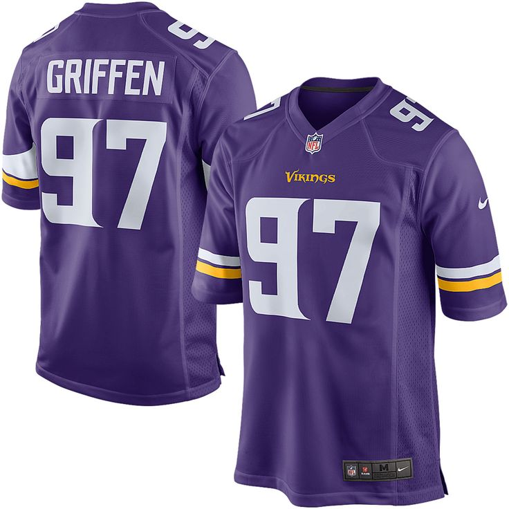 Men's Minnesota Vikings Everson Griffen Nike Purple Game Jersey