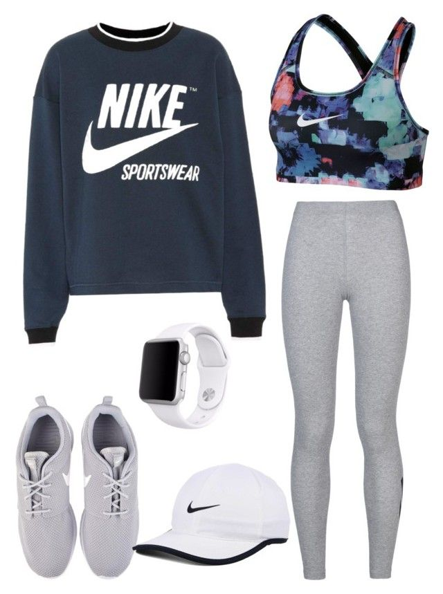 """""""Untitled #57"""" by sarahperri on Polyvore featuring NIKE and Apple"""
