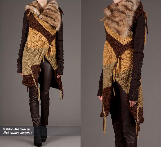Что связал Рик Оуэнс? |Осень-зима 2013-2014 на fashion-fashion.ru