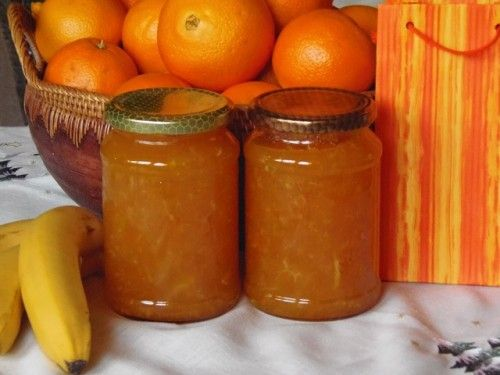 Édes narancslekvár