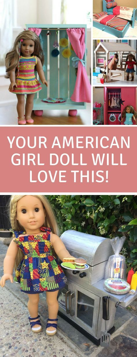 American Girl 18 Inch Doll DIY Furniture Projects