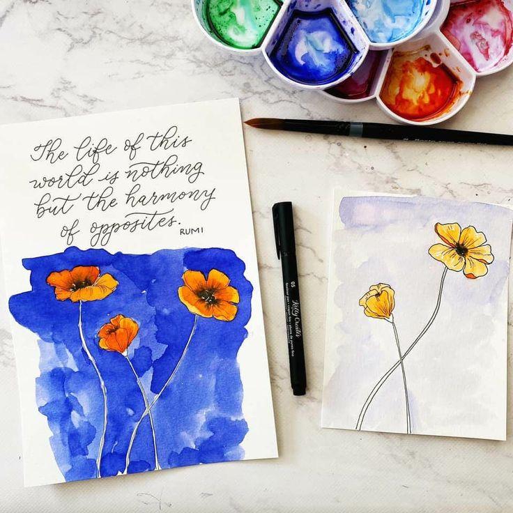 Pin de Olga Cabello en Pintura creativa | Creatividad