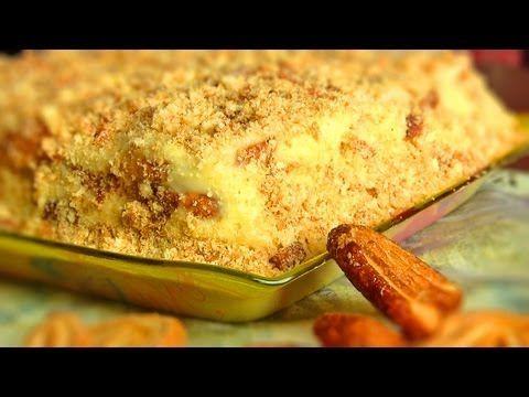 ЛЕНИВЫЙ НАПОЛЕОН :Торт из печенья - VIKKAvideo - YouTube