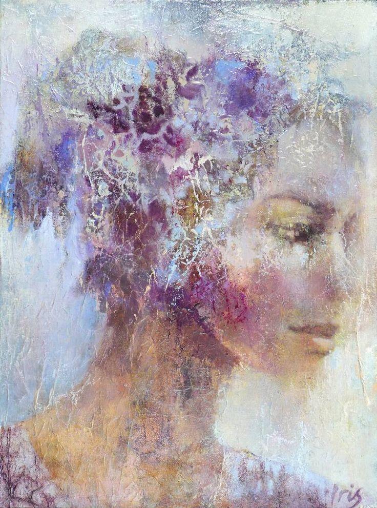 """Saatchi Art Artist Iris SCHREVEN;  Slikarstvo, """"Popolni pomanjkljivosti"""" #art"""