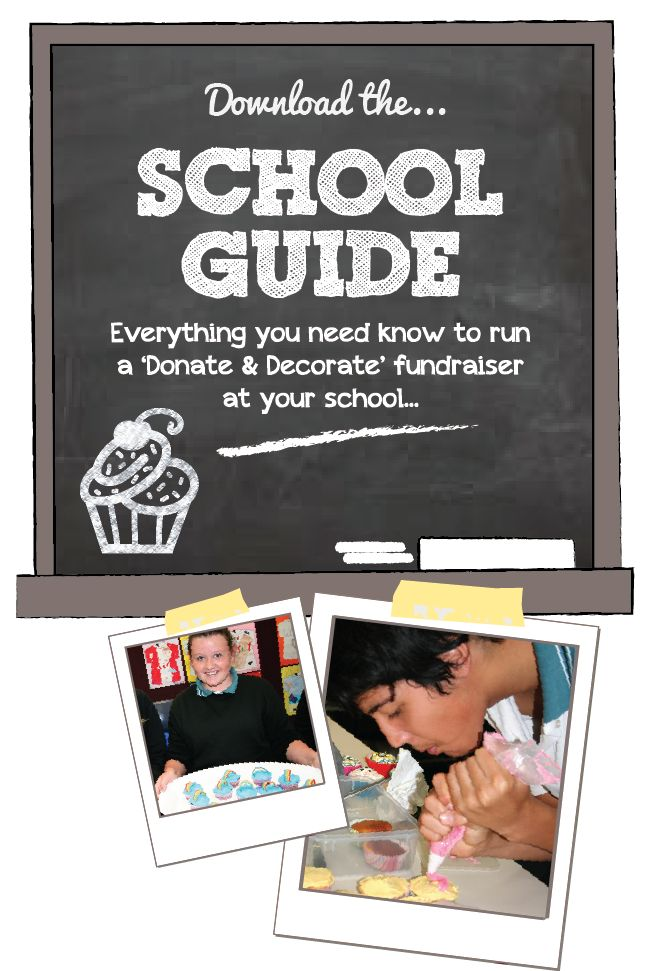 Get your school involved | How You Can Help | Cupcakes For Cancer Australia