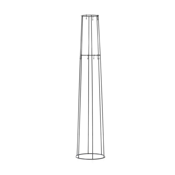 Simple Turm Garderobenst uaumlnder schwarz Jetzt bestellen unter https moebel ladendirekt de kinderzimmer betten baldachine uid udbc ade a a