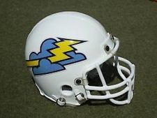 The club, which played in NFL Europe, was discontinued in 2005. Description from ebay.com. I searched for this on bing.com/images