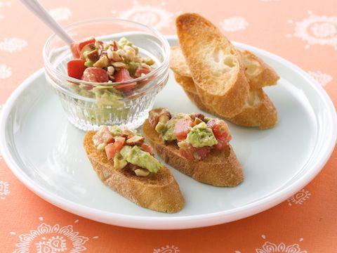アボカドとトマトのデイップサラダ  https://recipe.yamasa.com/recipes/268