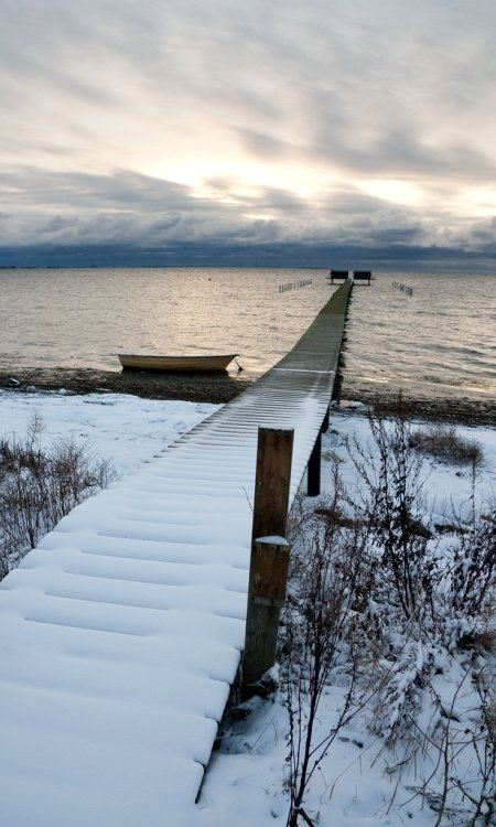 Winter beaches - Sweden