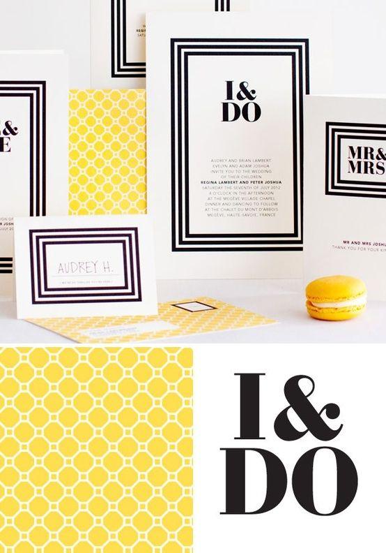 シンプルでオシャレ!カラーを決めて作る、結婚式の手作り招待状一例 | Mikiseabo -ミキシーボ-