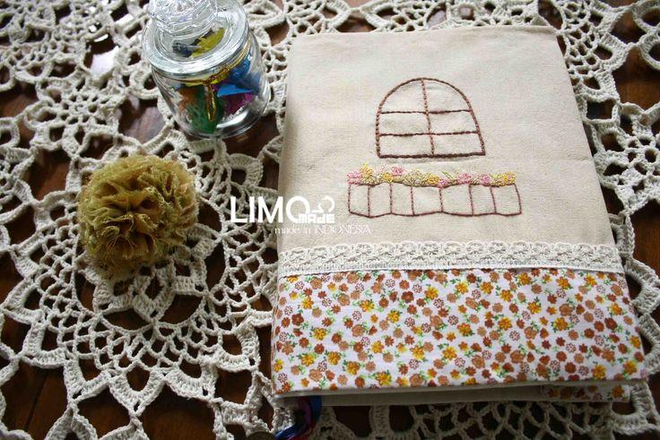 The Window | 55K | bahan : kain belacu | check this limo-made.blogspot.com #handmade #coverbinder #sampulbinder #limitededition #semarang #indonesia #limomade