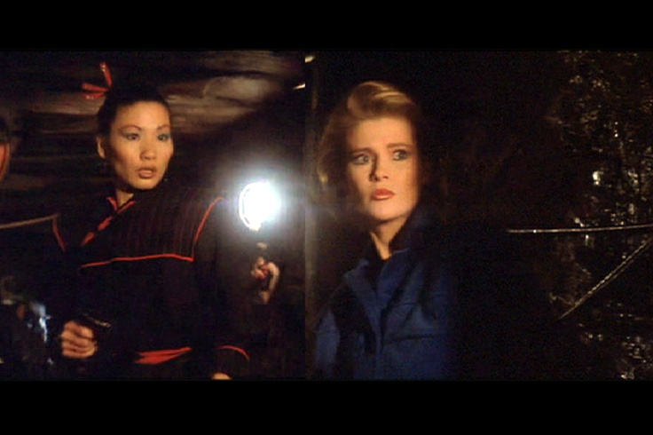 Pan Ho & Jenny Flex  (Papillon Soo Soo Alison Doody)  A View To A Kill  1985    Pan Ho and Jenny Flex are assistants to Zorin and May Day. They help lure a partner of Bond to his death, and assist in burning down San Francisco City Hall.    How They Die: Zorin decides to carry out his plan to flood a mine, gunning down his own workers rather than allow them to evacuate. Pan Ho and Jenny Flex are drowned in the flood waters.
