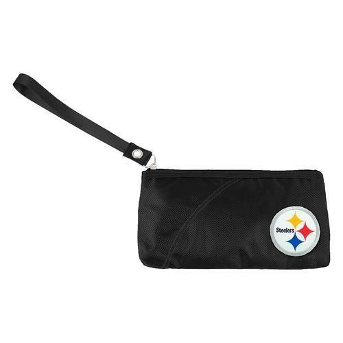 Pittsburgh Steelers NFL Color Sheen Wristlet (Black)