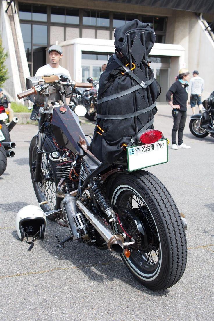 Moto yamaha scrambler cars motorcycles bobber forward mt09 yamaha - Yamaha Sr400 Turbocharger Kehin Flat Side Carburator Modified Head Cylinder Modified Subframe
