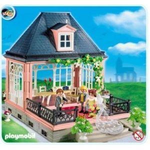 click playmobil 4297 pabellon de boda con joyero