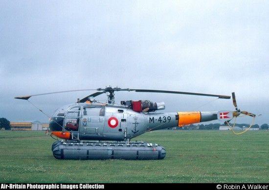 Aerospatiale SE.3160 Alouette III, M-439, Royal Danish Air force