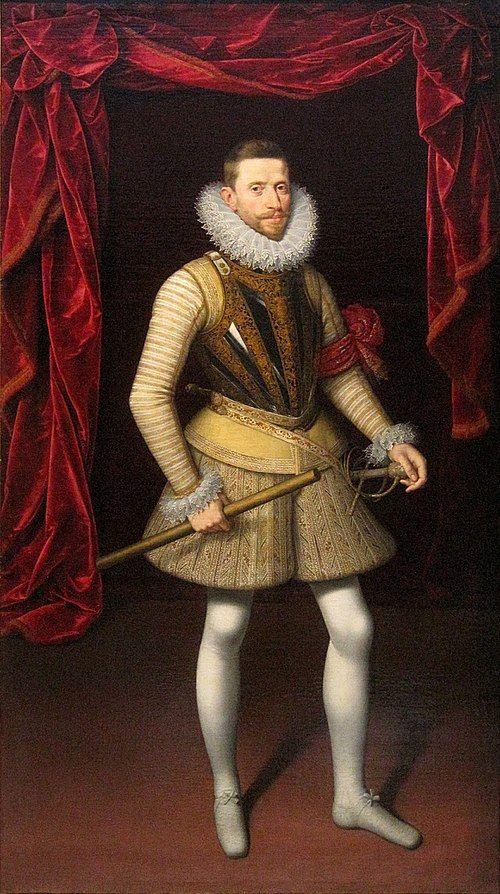 Spain / Battles.. Alberto, Archiduque de Austria (1559-1621). Príncipe austríaco, rey de los Países Bajos. Nació en Neustadt en 1559 y murió en Bruselas el 13 de Julio de 1621. También conocido como Alberto el Piadoso, fue arzobispo de Toledo y cardenal, además de ser nombrado gobernador y después soberano de los Países Bajos. Miembro de la familia de los Habsburgo o Austrias, era el sexto hijo del emperador Maximiliano II, sobrino de Carlos V y de la hija de éste, María de Austria.