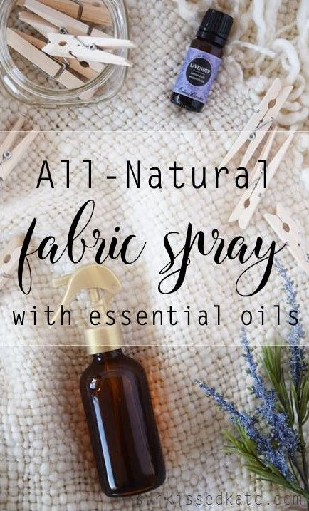 All Natural Fabric Refresh Spary | DIY Fabric Spray | Essential Oils | Homemade Cleaners
