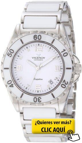 Reloj Viceroy Ceramica Y Zafiro 47548-05 Mujer... #reloj