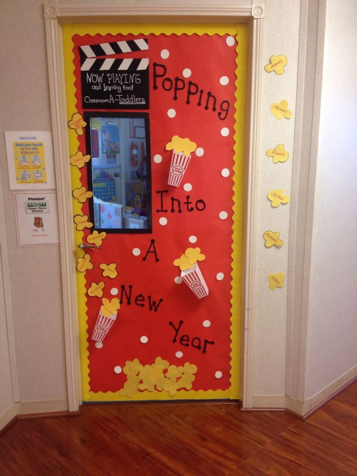 Popcorn classroom door January Need to engage parents ...