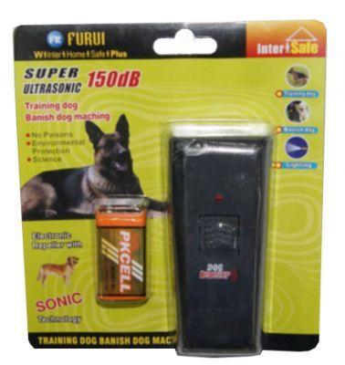 Kb Super Ultrasonic 150 Db Sonic Pilli Köpek Uzaklaştırıcı Lambalı
