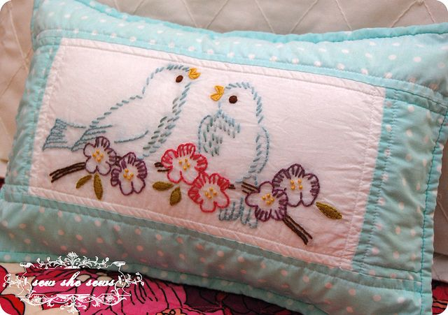 vintage embroidery patterns - perfect find on Mother's Day as it reminds me of my grandmother.