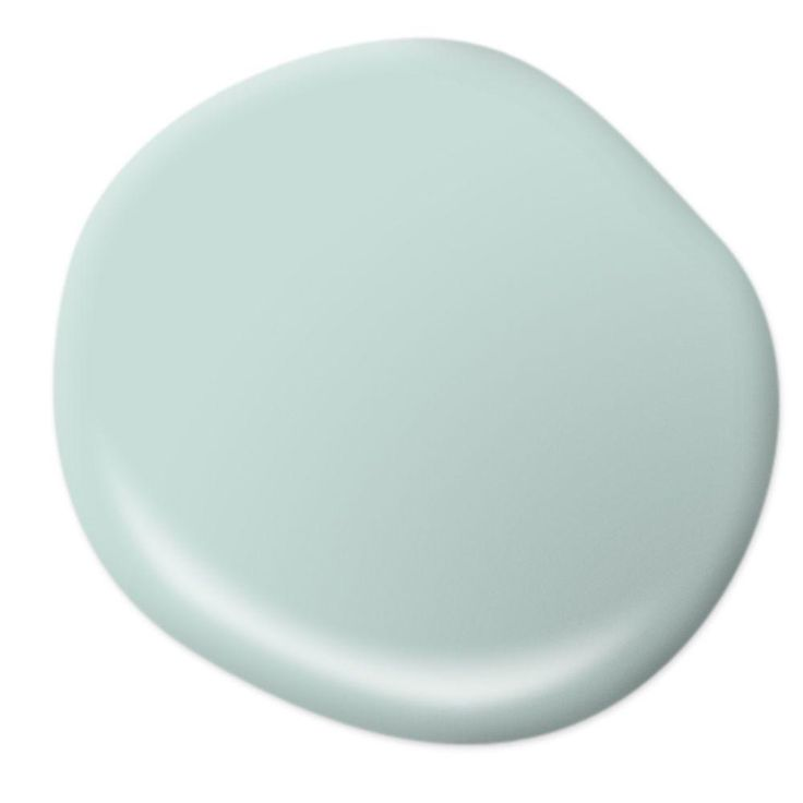 BEHR MARQUEE 8 Oz. #MQ3 20 Whipped Mint One Coat Hide Interior/Exterior  Semi Gloss Enamel Paint Sample