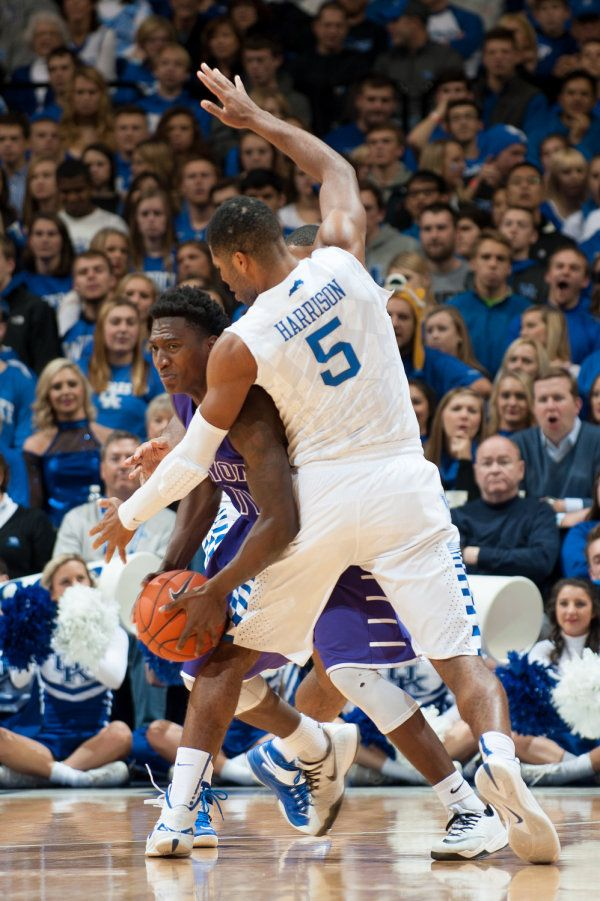 Andrew Harrison. (Love all the faces in the background )