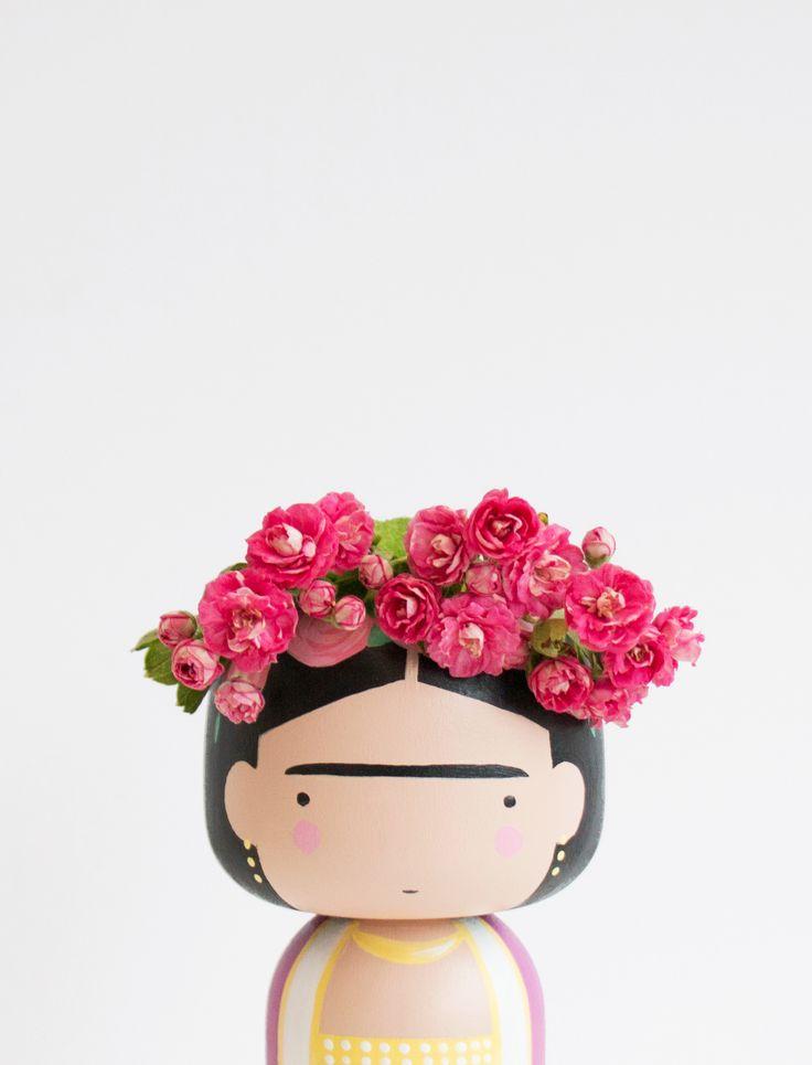 Frida Kokeshi Doll, 35 EUR, Nordliebe.com