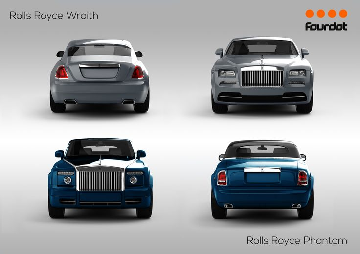 Rolls-Royce Phantom and Rolls-Royce Ghost added to the configurator 08/08/14   https://www.fourdot.co.uk/