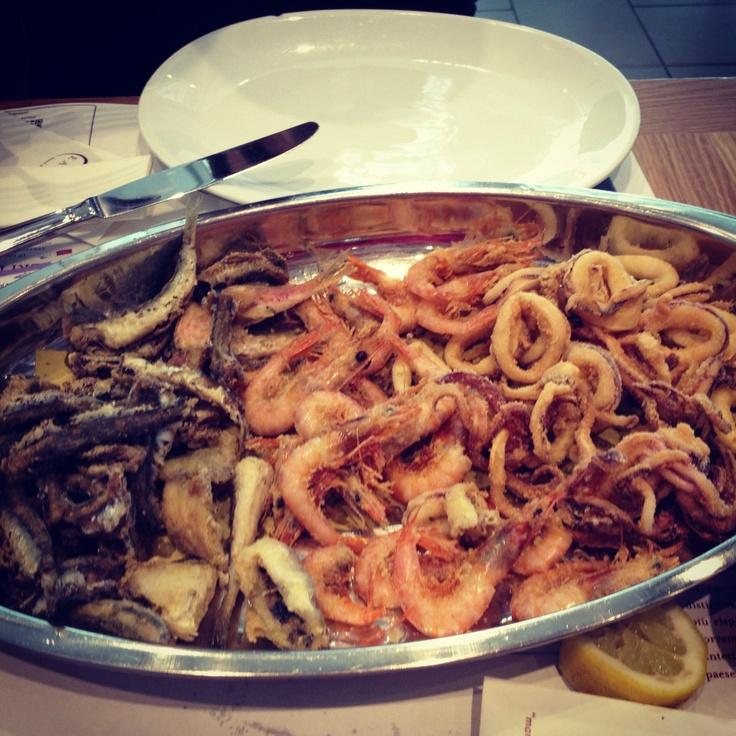 Eataly restaurant in Rome